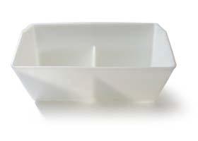 DURA-BUKET Polyethylene White