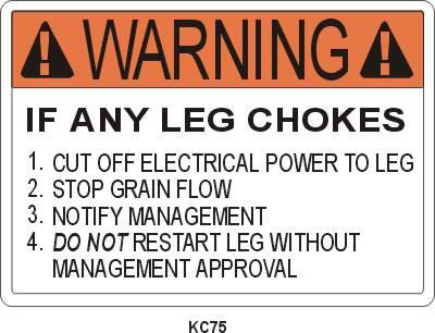 KC75P Leg Choke